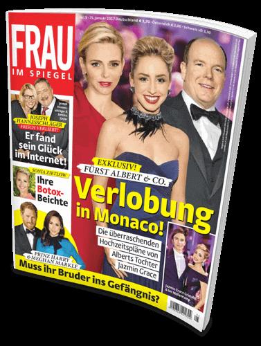Cover: Frau im Spiegel